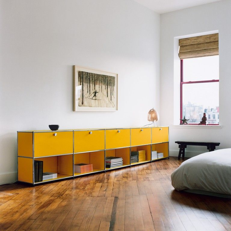 Yellow Kabinet   Wohnung   Pinterest   Usm haller, Usm und Wohnen