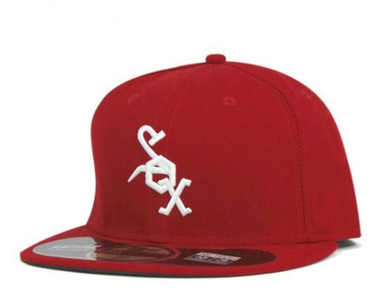 NEW ERA x MLB「Chicago White Sox Retro Day」59Fifty Fitted Baseball Cap