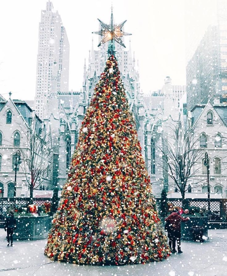 Ally Georgia Farmhouse On Instagram New York City At Christmas Time Is On Bucket List Ideas Christmas Tree Inspiration New York Christmas Christmas Aesthetic