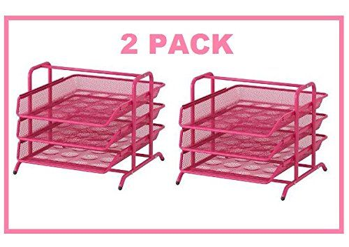 Admirable Ikea Dokument File Desk Organizer Pink Trays Steel Pack Of Home Interior And Landscaping Eliaenasavecom