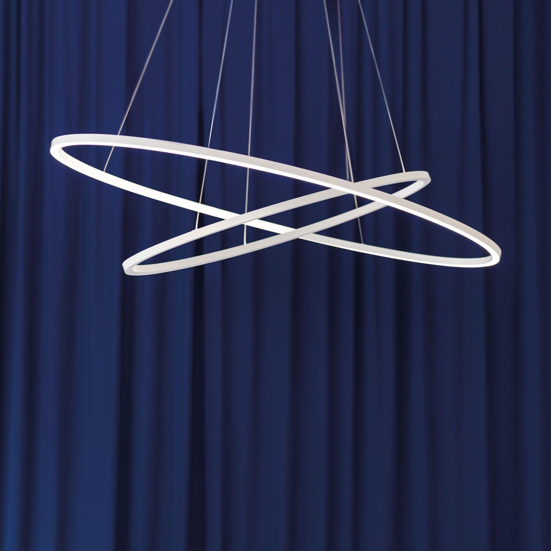 Ellisse Double Pendant by Nemo | ELP LWW 56 & Ellisse Double Pendant | Pinterest | Extruded aluminum Indirect ...