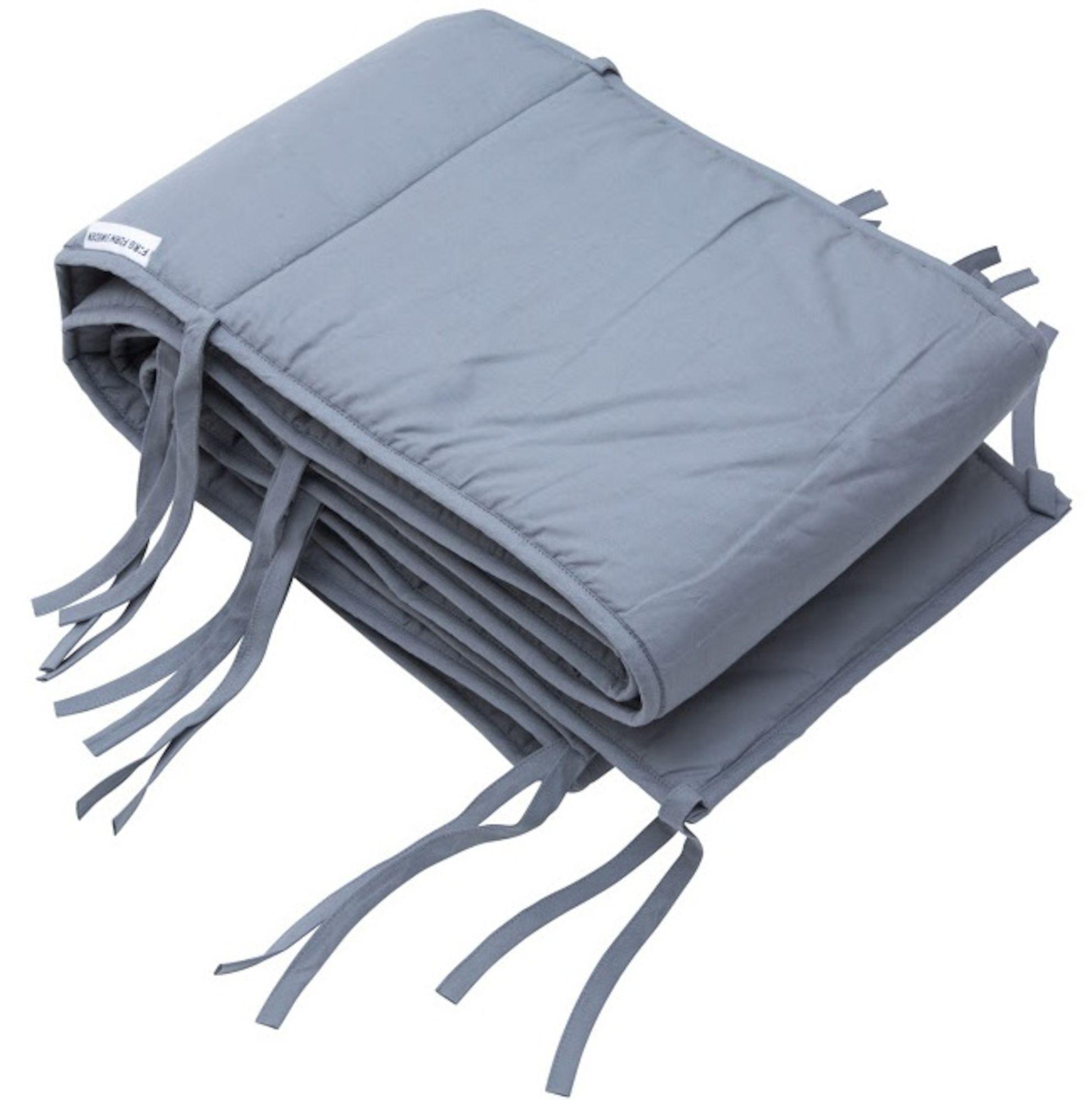 Farg Form Kinderbettschutz Kinderbett 360x28 Oko Grau Ist Ein