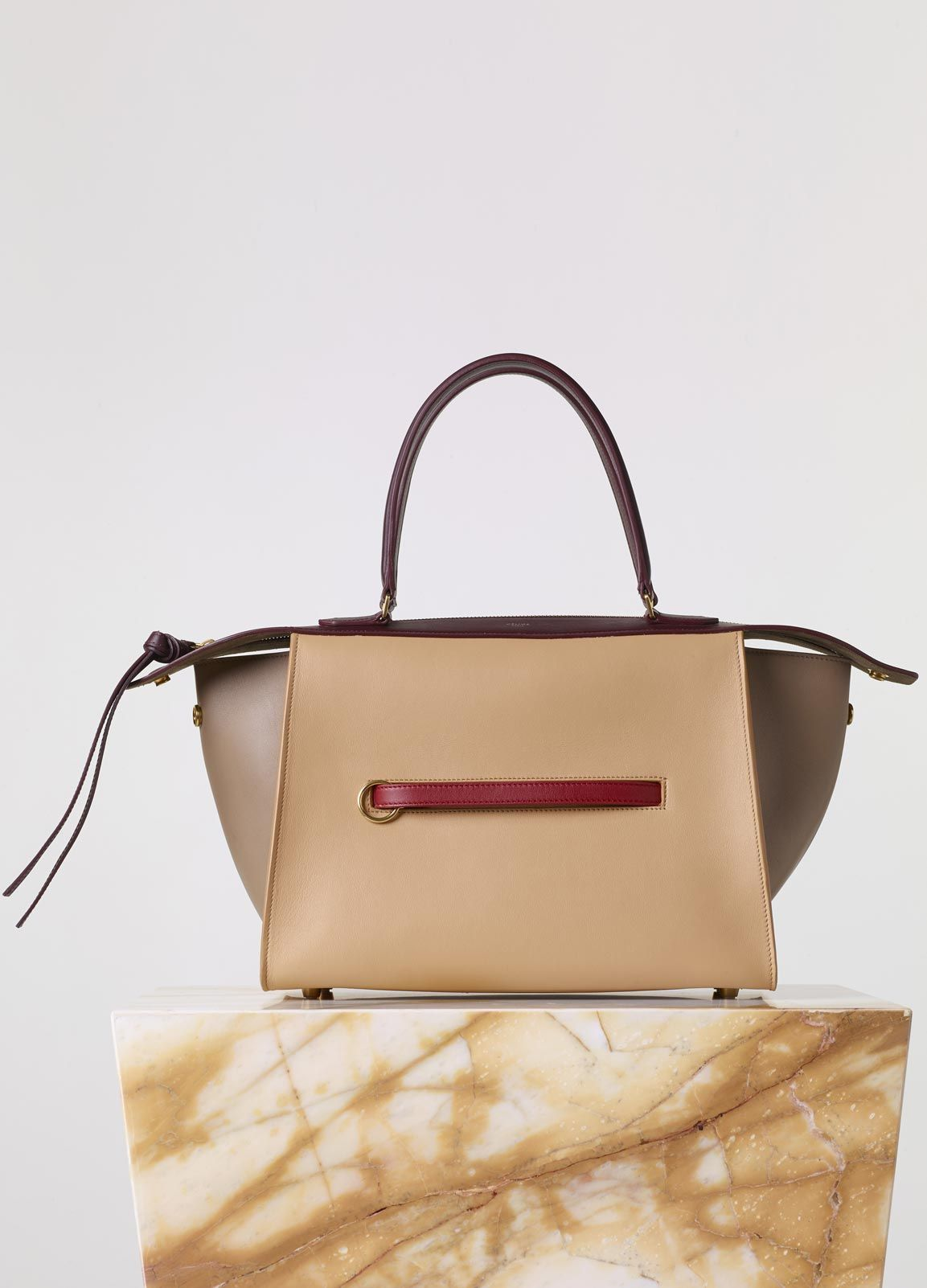 130c3f882e Small Ring Bag in Sepia Smooth Calfskin - Fall   Winter Collection 2015