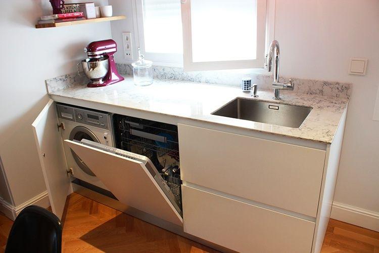 cocina pequeña electrodomésticos