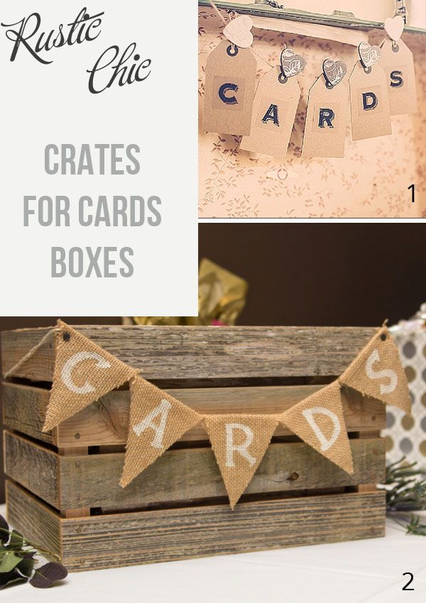 Wooden Crates For Cards Boxes At Weddings Card Box Wedding Mailbox Card Holder Wedding Gift Table Wedding