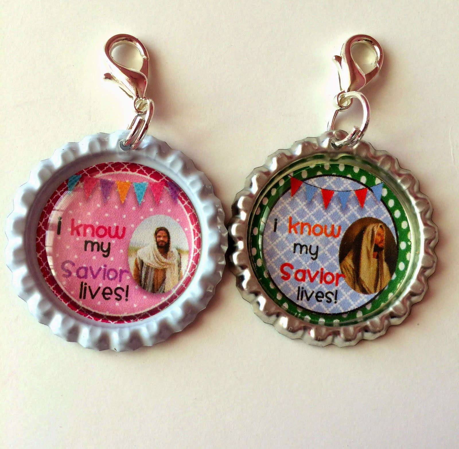 Primary 2015 theme: Scripture Charm pulls for your primary children.