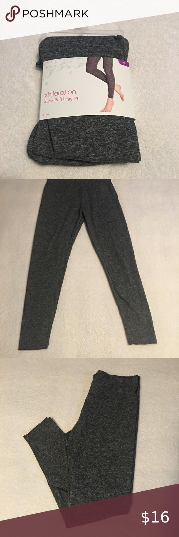 4-6 Black Super Soft Legging Xhilaration Size Small