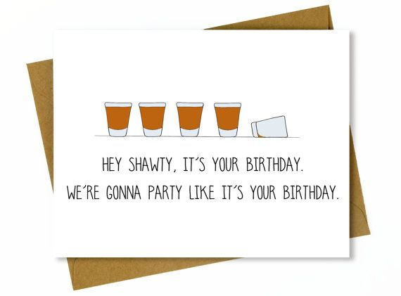 Funny Birthday Card for Friend Funny Best Friend Birthday Card – Birthday Cards Canada
