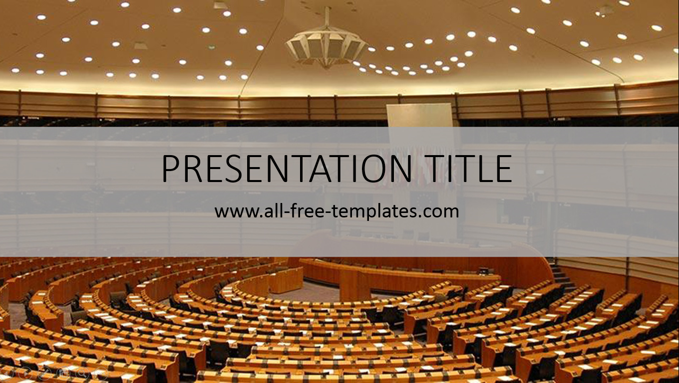 Politics PowerPoint Template | All-free-templates | PowerPoint ...