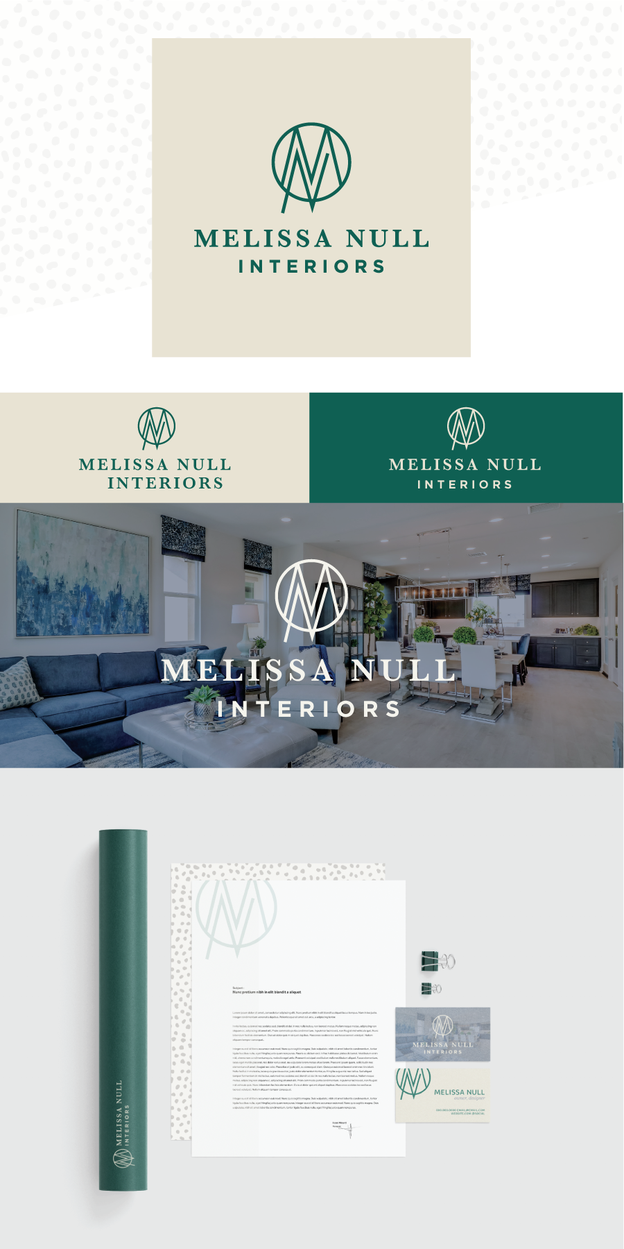 Mn Monogram Logo For Interior Design Firm Melissa Null Interiors Using Earth Tones Playful Pat Monogram Logo Design Interior Design Brand Branding Design Logo