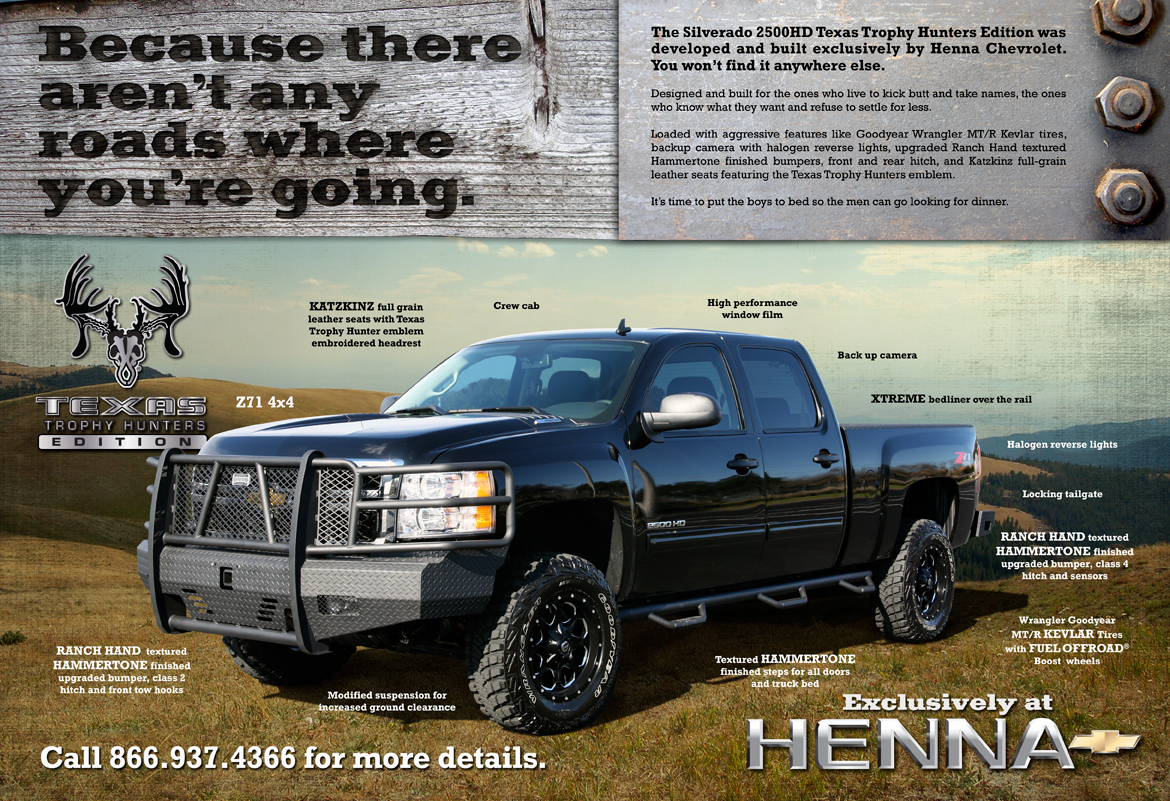 Trophy Hunters Edition Truck Crazy Cool Cars Trucks Chevy