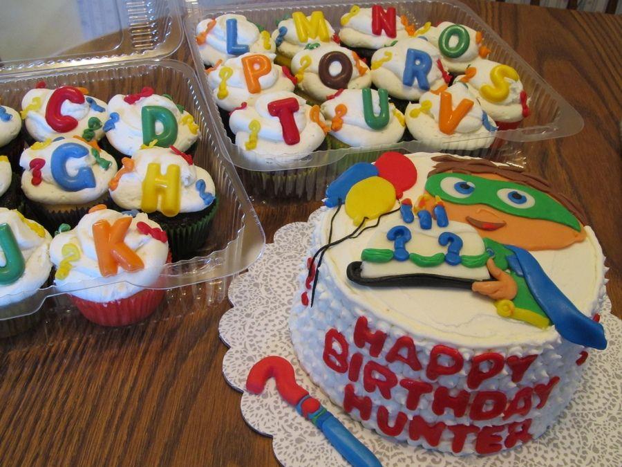 Super Why Childrens Birthday Cakes Kids Birthday Pinterest