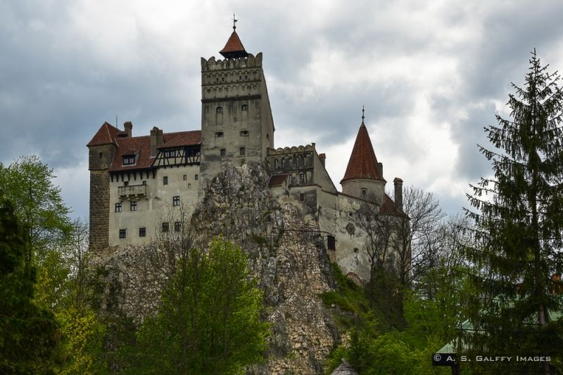 the Castle of Bran in Romania. Read more about Medieval Castles and Fortresses of Transylvania.