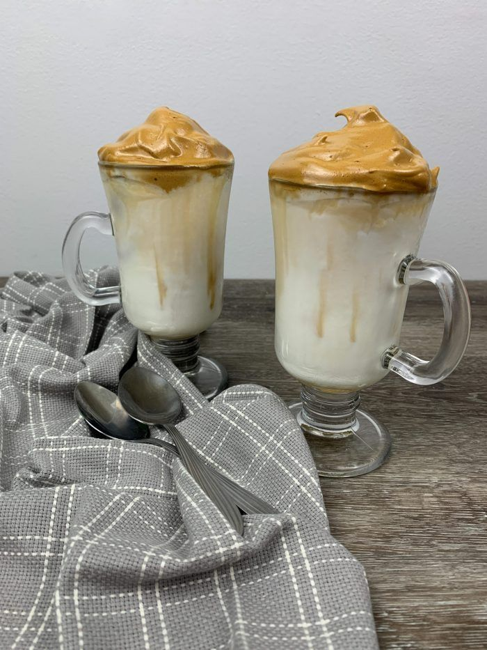How to Make a tasty Salted Caramel Whipped Coffee (Dalgona