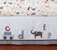 Abc Crib Bed Skirt Pottery Barn Kids
