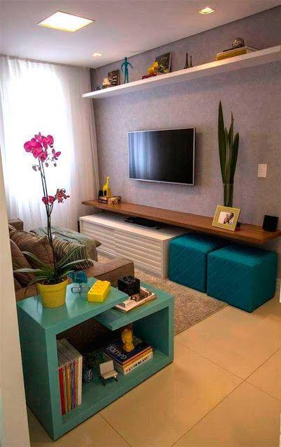 Ideas para organizar el area de tu tv by artesydisenos for Como decorar tu apartamento