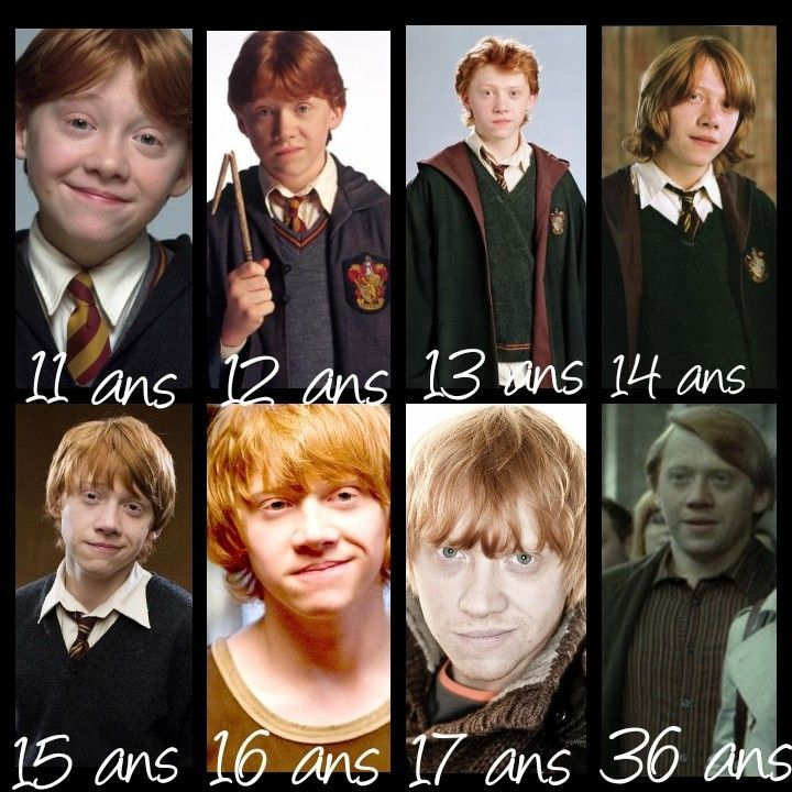 L Evolution De Ronald Weasley Keifa De Keifa Levolution Ronald Weasley Harry Potter Ron Harry Potter Lustig Harry Potter Fakten