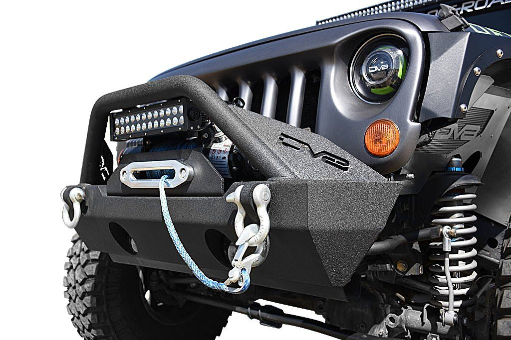 Dv8 Offroad Fs 15 Hammer Front Stubby Bumper For 07 20 Jeep
