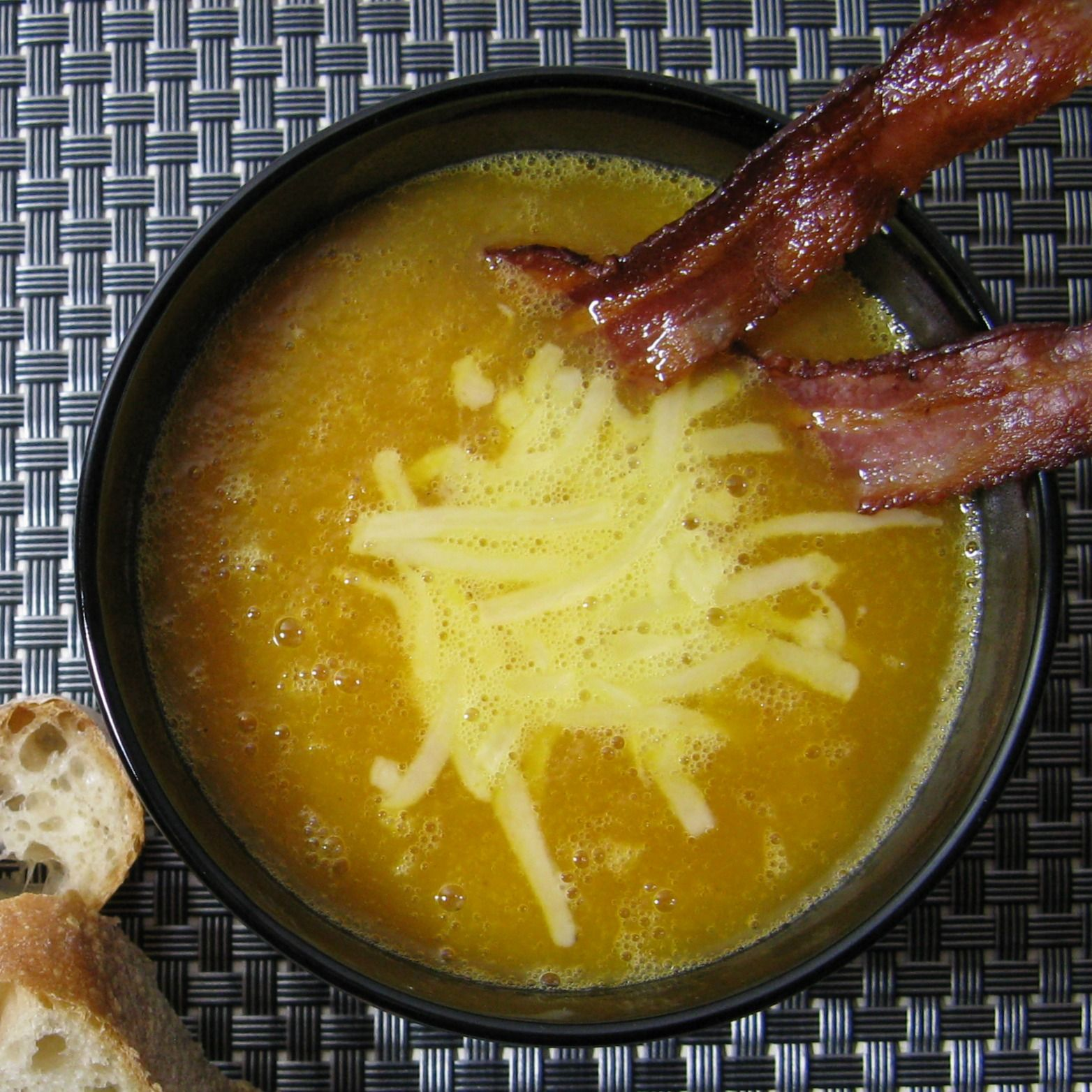 Recette de soupe aux navets boule d'or