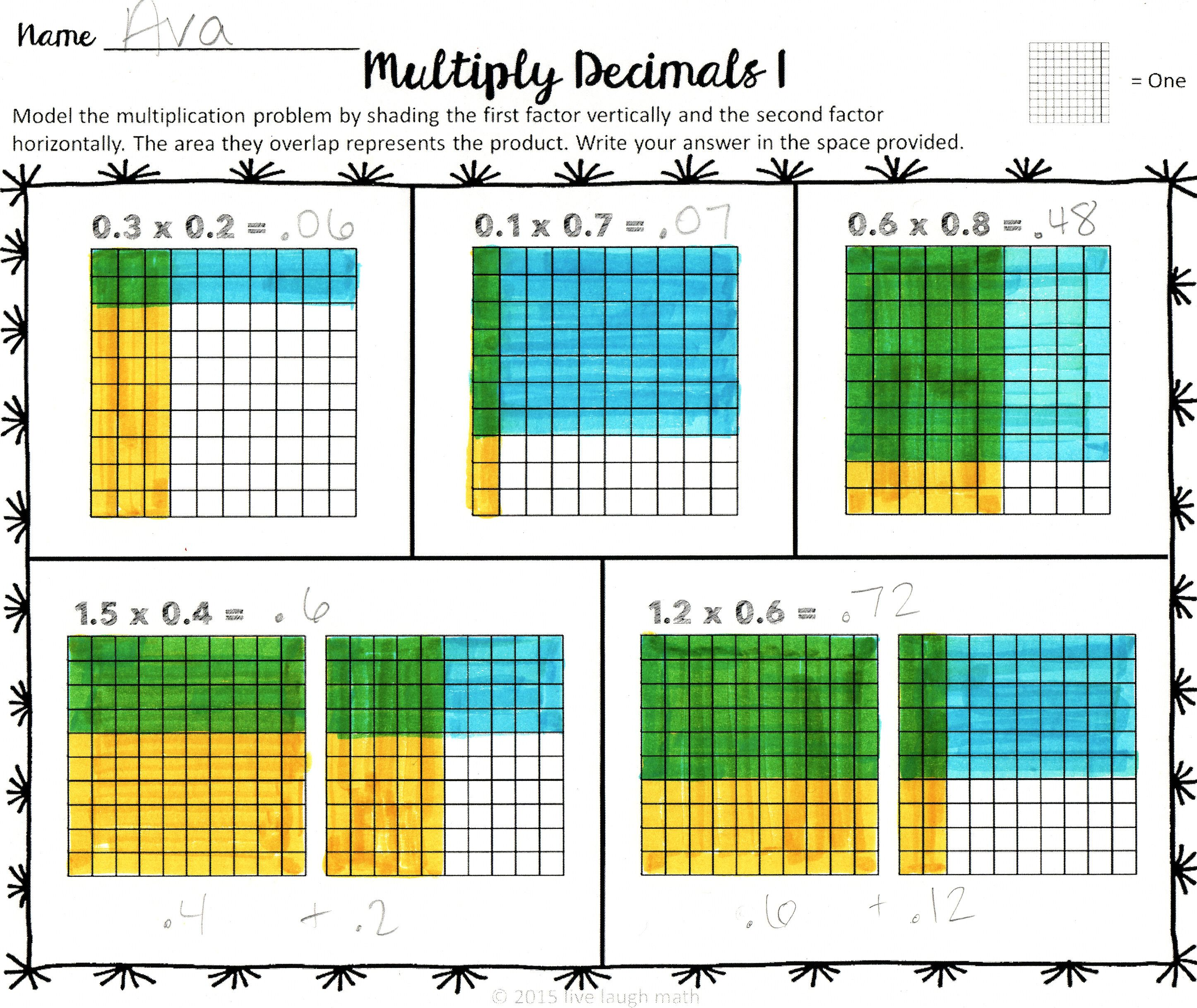 decimal operations modeling dividing decimals bulletin board and students. Black Bedroom Furniture Sets. Home Design Ideas