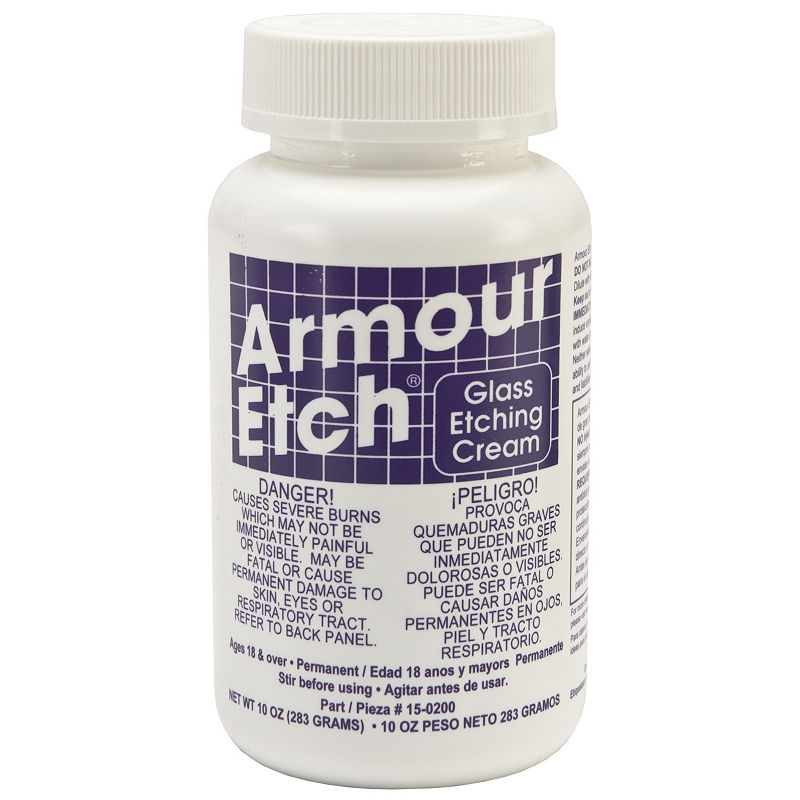 Armour Etch Glass Etching Glass Etching Cream