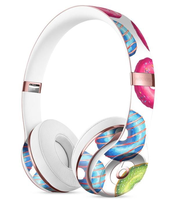 Yummy Colored Donut Galore Full Body Skin Kit For The Beats By Dre Solo 3 Wireless Headphones Căști Accesorii