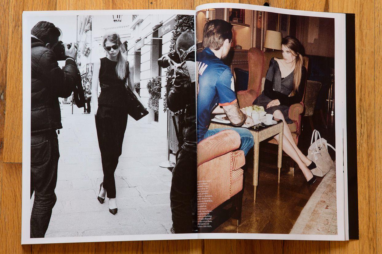Caroline Brasch Nielsen shot by TR for French Vogue…