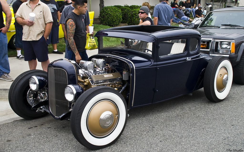 1931 Ford Model A 5 Window Coupe Chopped Amp Channeled