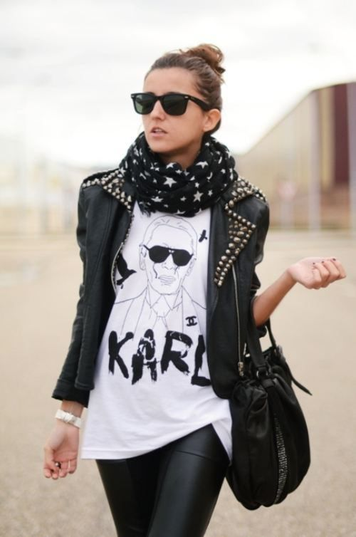 classy rock and roll style  rock  roll look