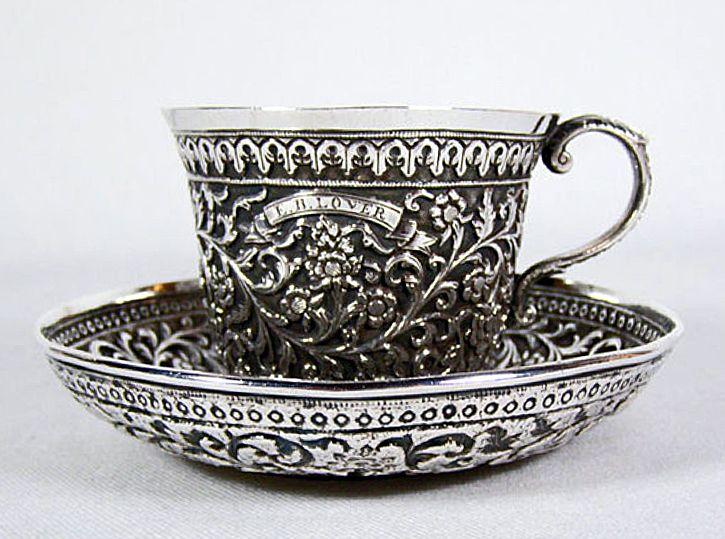 Kutch Bhuj Gujarat Silver Pooja Items Silver Tea Silver Art