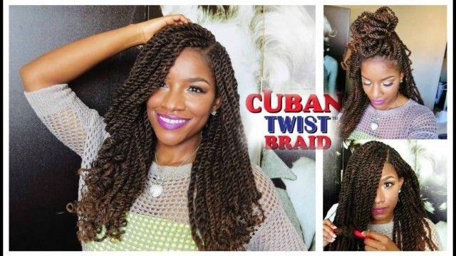 Cuban Twist Braids Google Search Braids Hair Styles Cuban