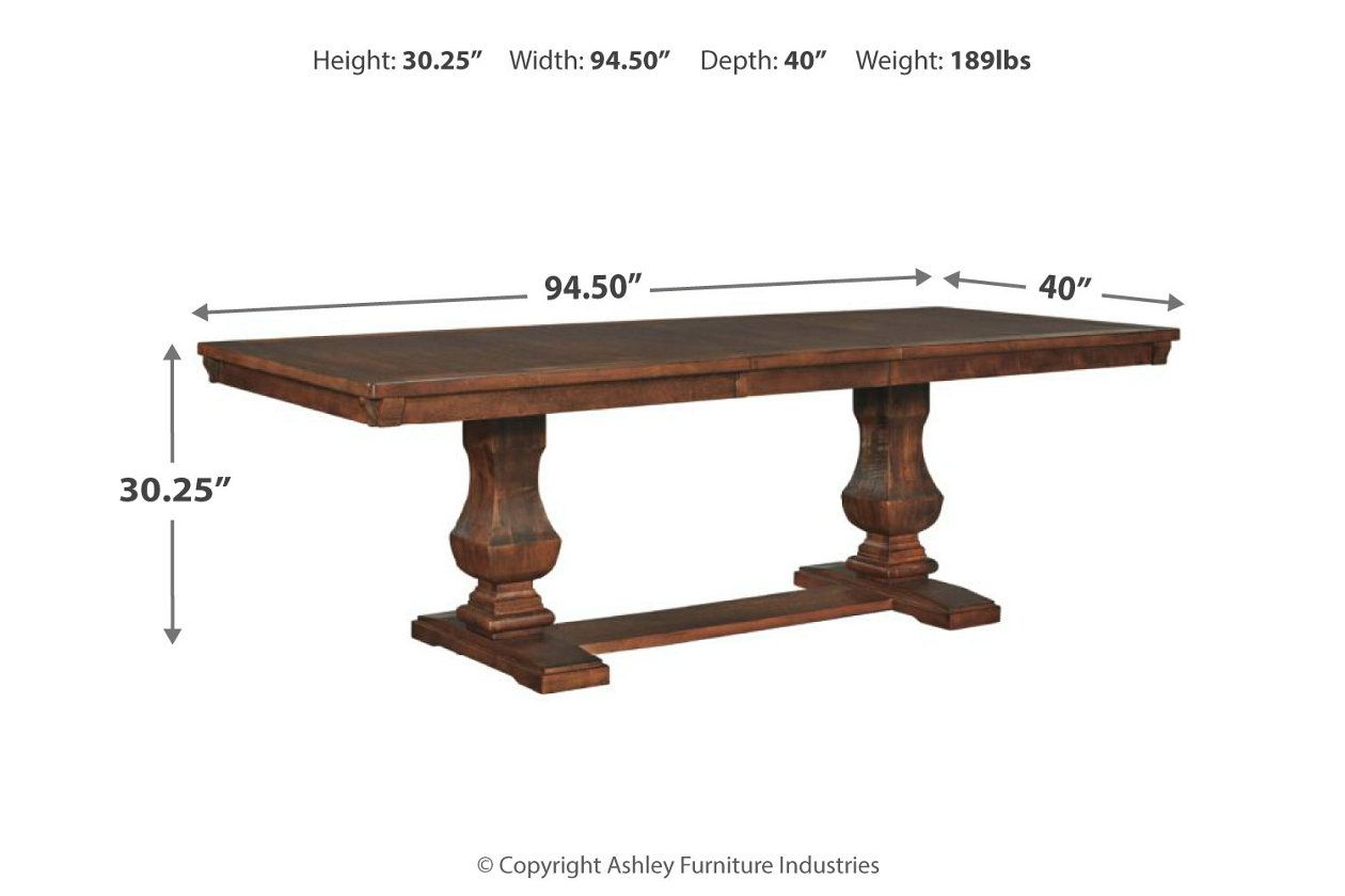 Windville Dining Room Extension Table Dining Room Accessories