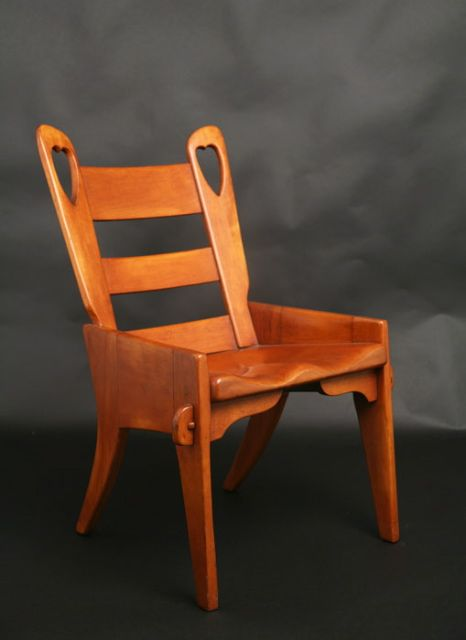 From Jason Jacques Gallery. Herman De Vries, Designer. Cushman Colonial  Creations Heart Back