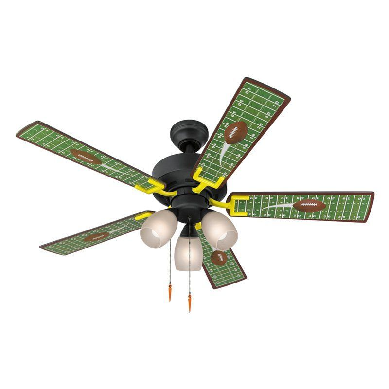 Indoor Ceiling Fan With Light