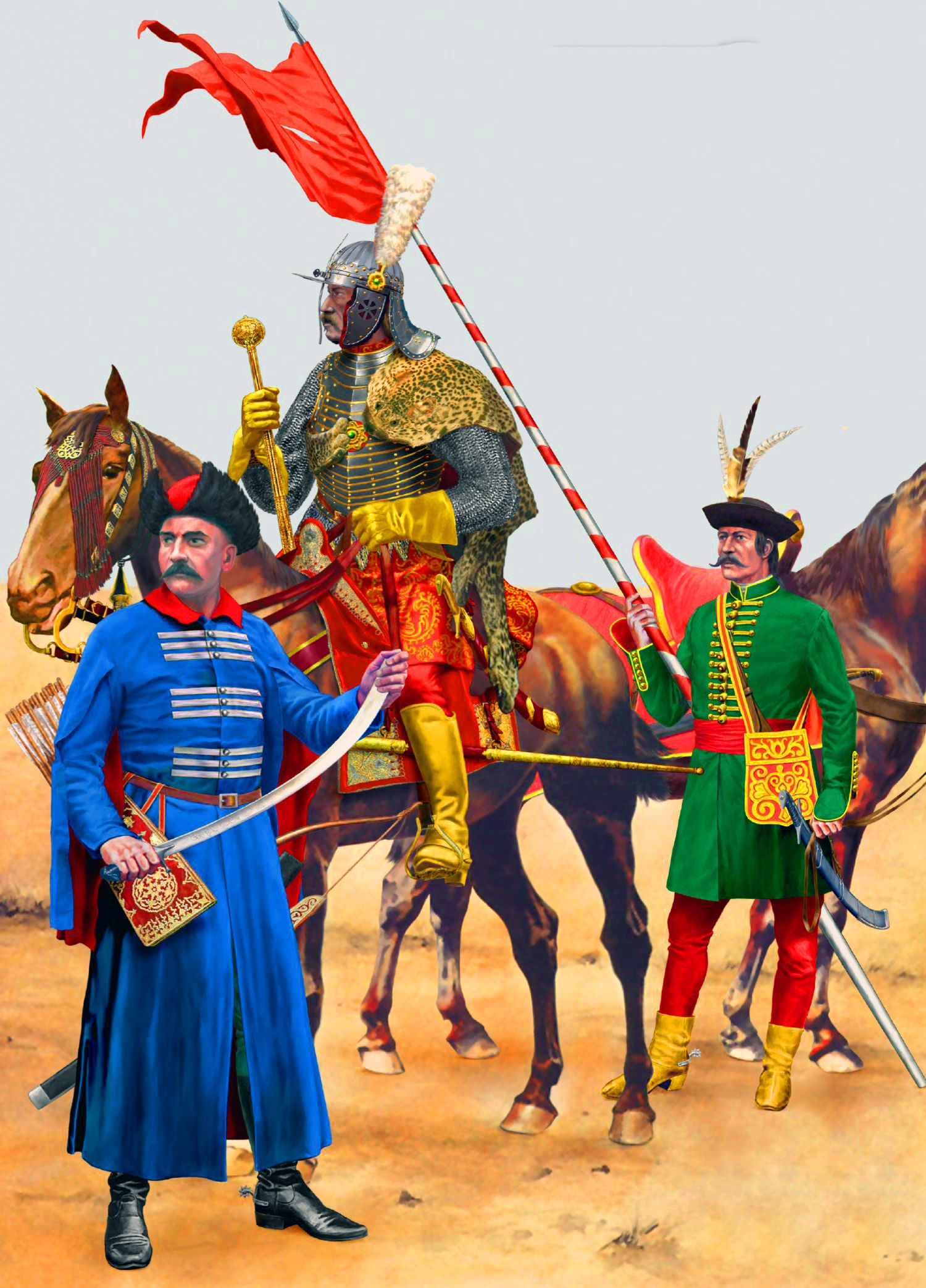 Hussars Amp Poles During The Thirty Years War
