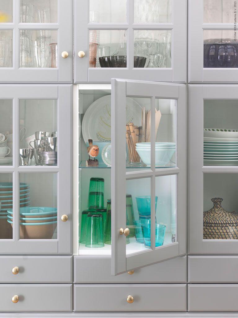 Luckor Till Ikea Kök Metod ~ METOD kök med BODBYN luckor och lådfronter Kök Pinterest Kitchens, Interiors and House