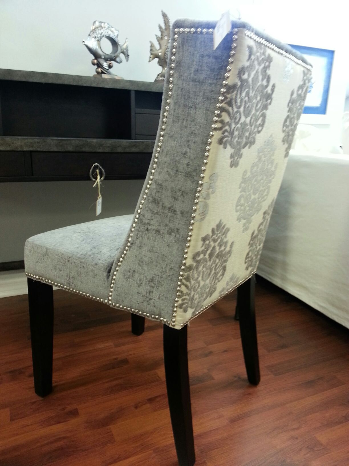 Cynthia Rowley Nailhead Accent Chair Home Goods Chairs