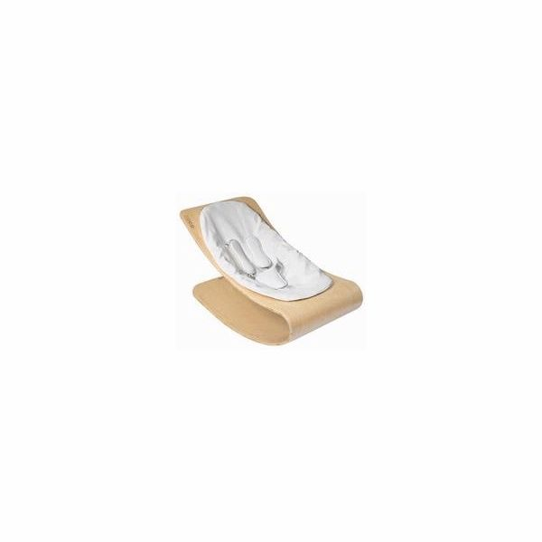 Bloom Coco Style Wood Natural Baby Lounger in Lunar Silver ...