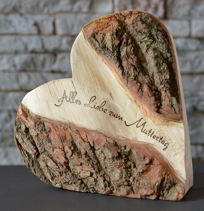 Herz Zum Muttertag-120-800x800 | Wood | Pinterest | Sms ... Holz Deko Selber Machen