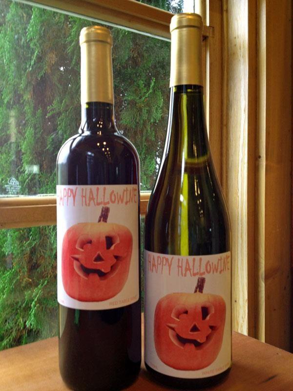 Hallowine From Three Sisters Vineyards In Dahlonega