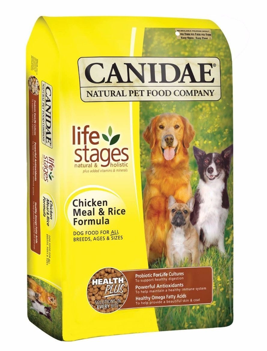 Canidae Life Stages Chicken Meal Rice Dry Dog Food 5 Lbs Dry Dog