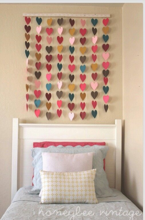 15 creative ways to decorate your home for free heart wall artheart