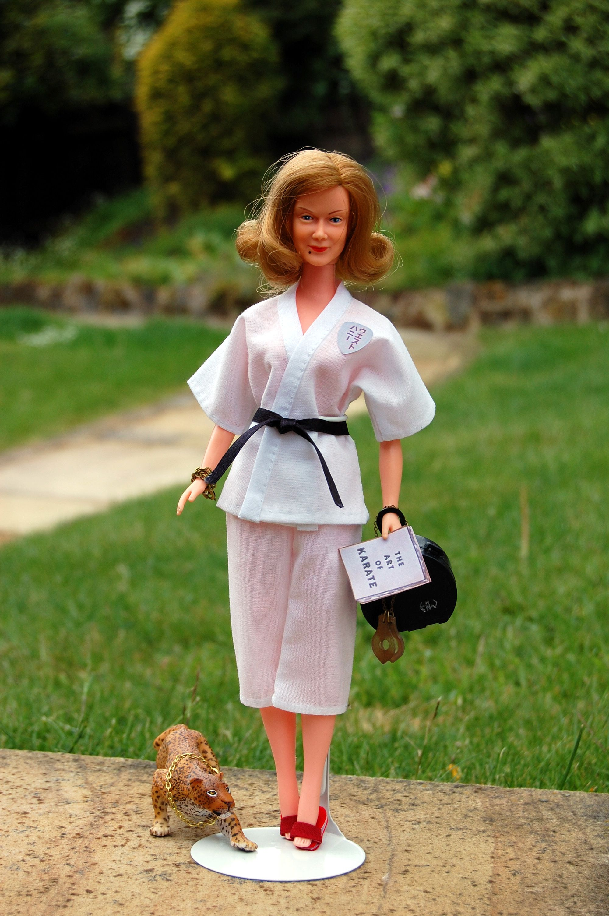 Honey West Doll With 2nd Version Face Wearing Home