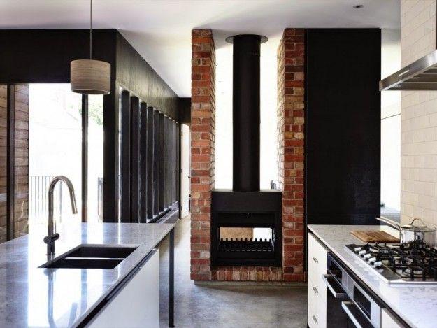 Decorare casa con i mattoni a vista Design case moderne