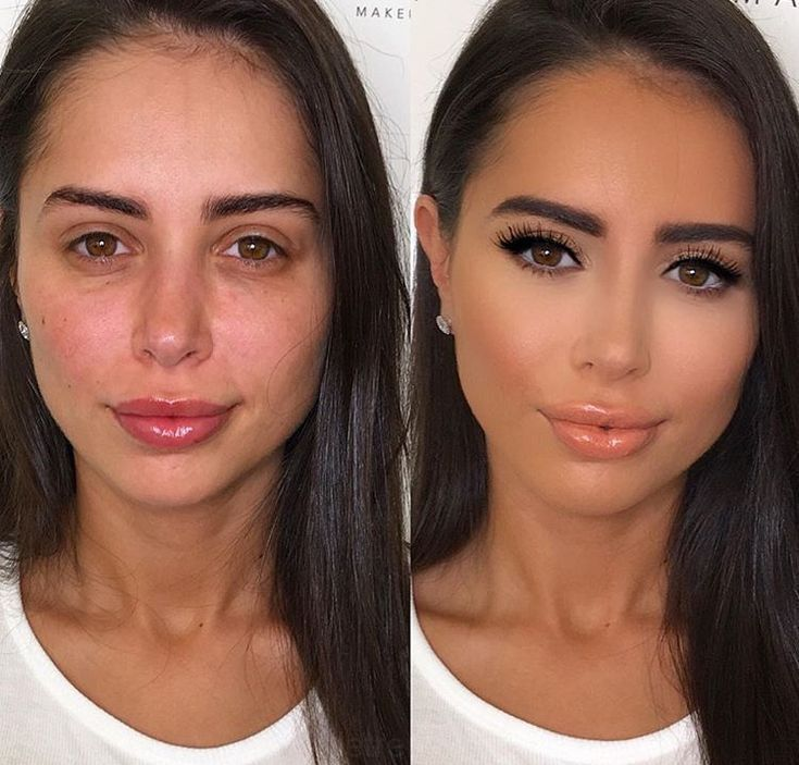 Makeovers for Ladies image by Jane Wood Branam in 2020 - Brunette makeup, Glowing makeup, Makeup before and after - 웹