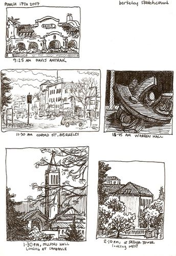 sketchcrawl #13, berkeley, march 17th 2007 | 출처: petescully