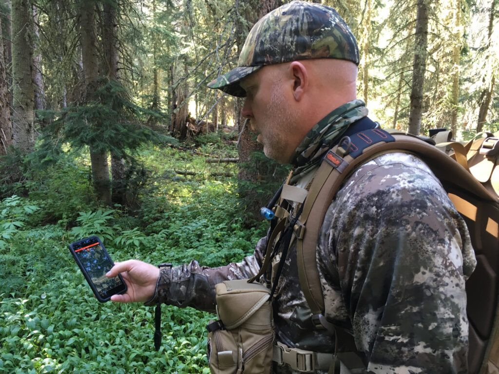 Using the onX Hunt App on a Smartphone in 2020