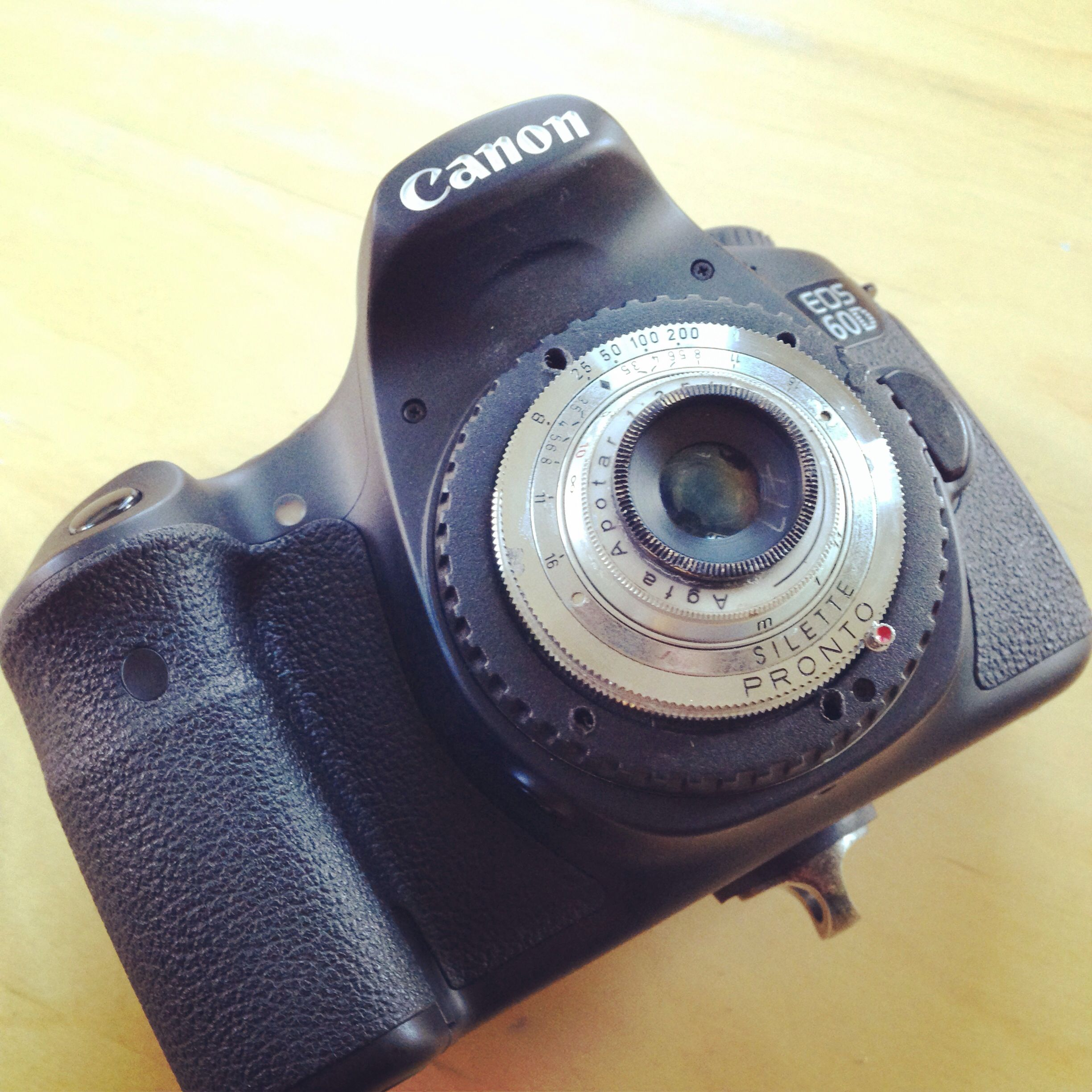 My Afga to EOS lens hack on my Canon 60D