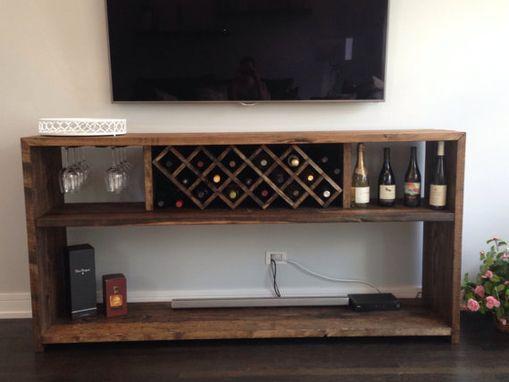 Mueble para botellas muebles para vino y copas mueble para vino muebles estante para - Muebles para vino ...