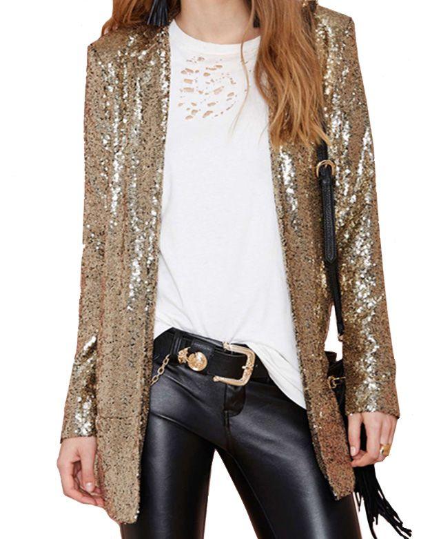 Christmas Glitters Medium Style Coat